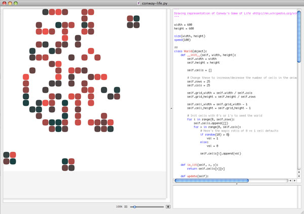 Nodebox screenshot